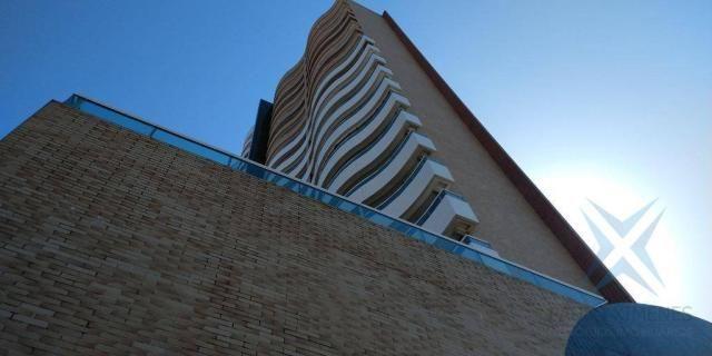 Apartamento com 1 dormitório à venda, 48 m² por r$ 300.000 - praia de iracema - fortaleza/