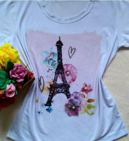 T-shirts Novas - Foto 4