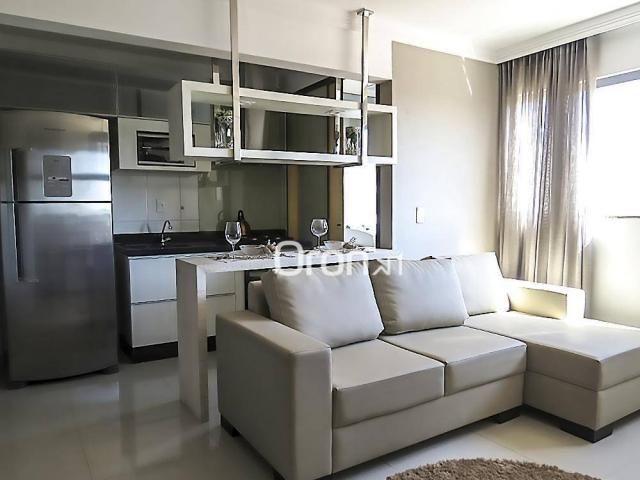 Apartamento com 2 dormitórios à venda, 55 m² por R$ 243.000,00 - Vila Rosa - Goiânia/GO - Foto 5
