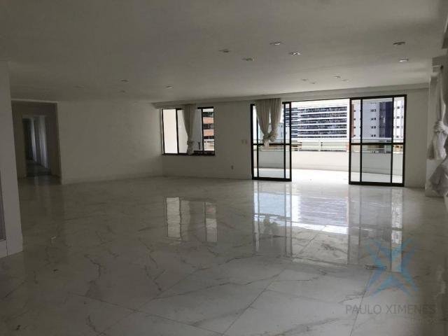 Apartamento com 4 dormitórios à venda, 357 m² por r$ 2.680.000,00 - meireles - fortaleza/c - Foto 5