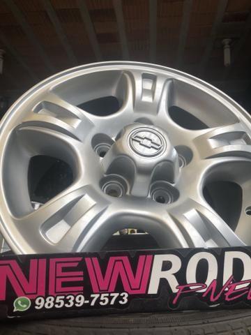 Rodas ChevroletAro 15 S10 e Blazer 5Furo