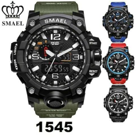 5712079acda Relógio Masculino Militar Smael S Shock Digital