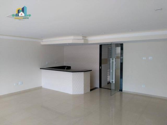 Apartamento residencial para locação, Vila Guilhermina, Praia Grande. - Foto 18