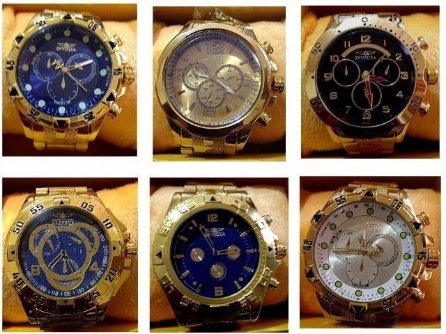 2ad67fee7fa Relógios Invicta (Vários Modelos) - Bijouterias