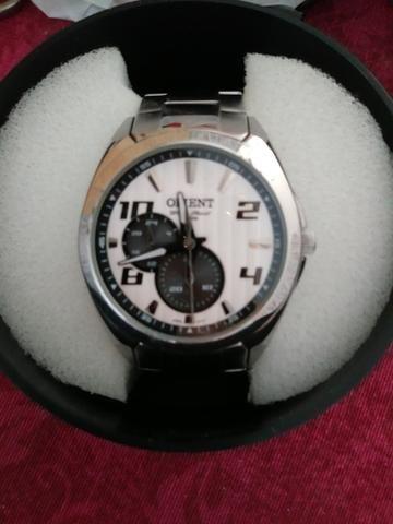 229d5f41ebc Relógio ORIENT masculino aco inoxidavel - Bijouterias