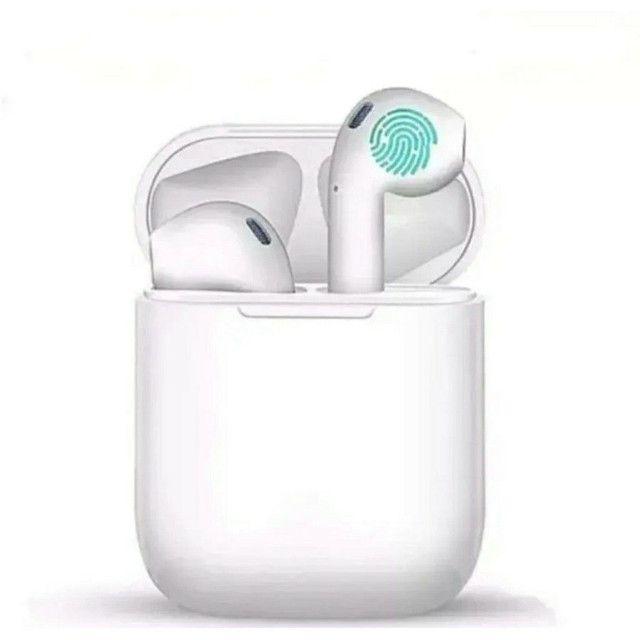 Fone De Ouvido touch iphone android I11 Tws Bluetooth Sem Fio Com Microfone Pronta entrega - Foto 4