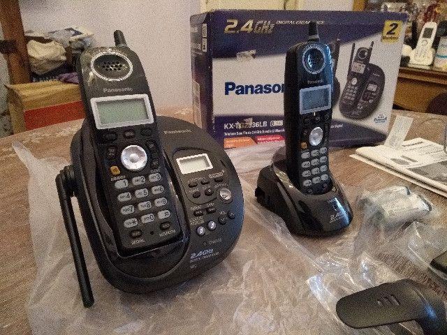 Telefone Panasonic KX-TG2836LB