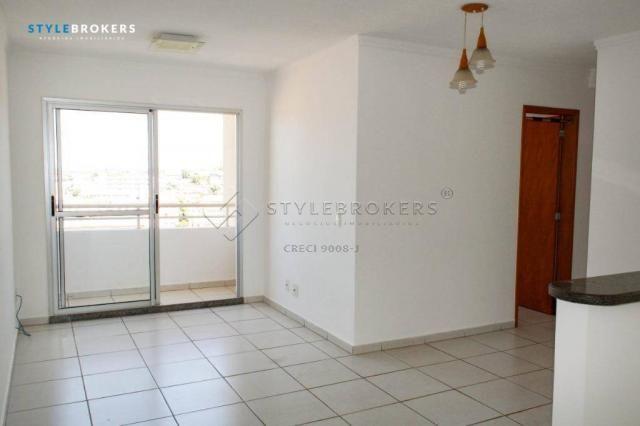 Apartamento com 3 dormitórios para alugar, 66 m² por R$ 1.500,00/mês - Centro Sul - Cuiabá - Foto 16