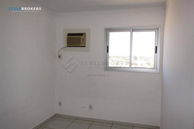 Apartamento com 3 dormitórios para alugar, 66 m² por R$ 1.500,00/mês - Centro Sul - Cuiabá - Foto 15