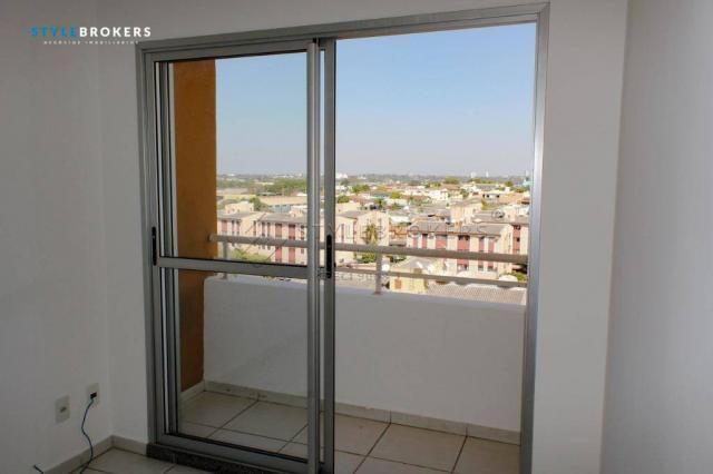 Apartamento com 3 dormitórios para alugar, 66 m² por R$ 1.500,00/mês - Centro Sul - Cuiabá - Foto 19