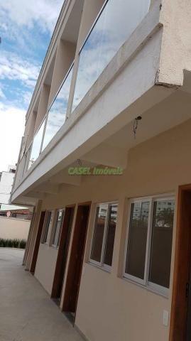 Casa de condomínio à venda com 2 dormitórios em Vila caiçara, Praia grande cod:803295 - Foto 8