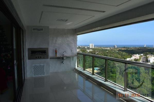 Apartamento para Venda em Salvador, Patamares, 4 dormitórios, 4 suítes, 5 banheiros, 4 vag