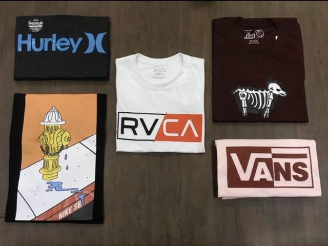 Fornecedor de camisetas multimarcas RJ - Foto 3