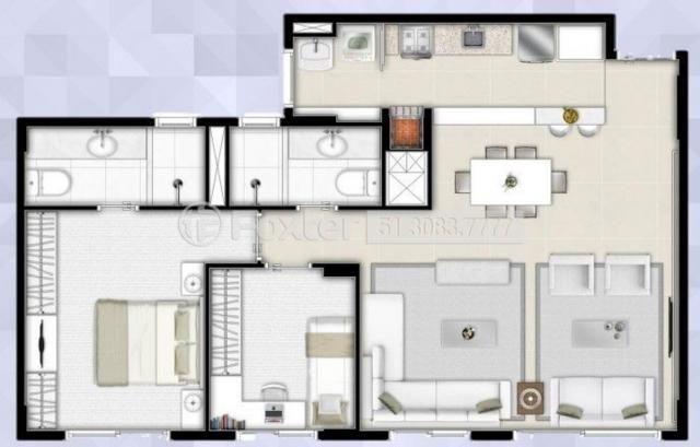 Apartamento à venda com 2 dormitórios em São sebastião, Porto alegre cod:192587