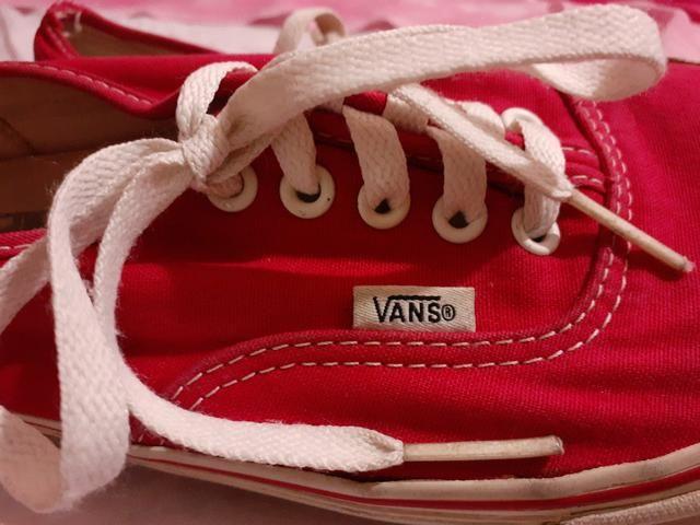 Vans Authentic Vermelho - Foto 4