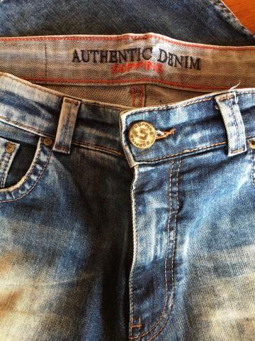 Calça Jeans Dopping Slim Fit 44 - Foto 4