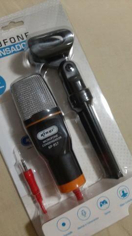Microfone knup condensador - Foto 3