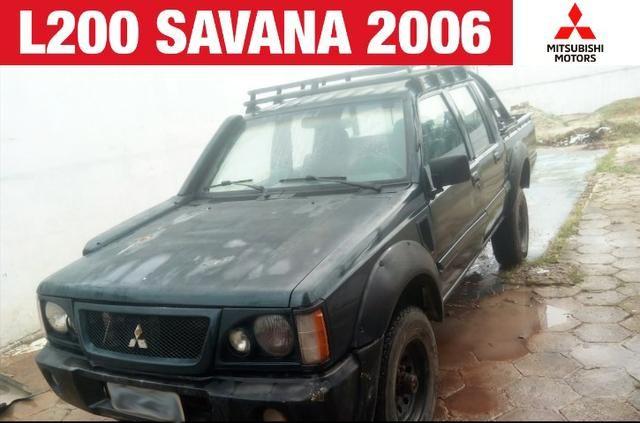 Mitsubishi L200 Savana 4x4 2005 2006