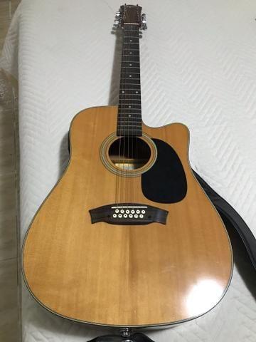 Vendo violão Tagima 12 cordas - Foto 4