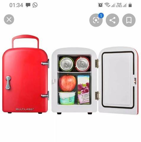 Mini geladeira portátil - Foto 2