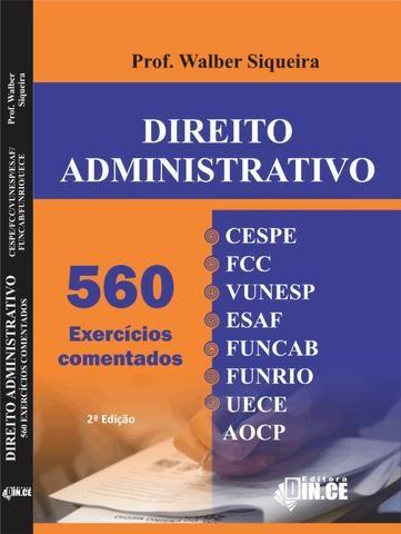 Livro Dince Direito Administrativo - teoria e 560 questões 2020