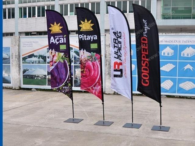 Wind banner e Tapete personalizado
