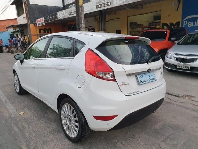 New Fiesta 1.6 2014 Titanium automático Top - Foto 8