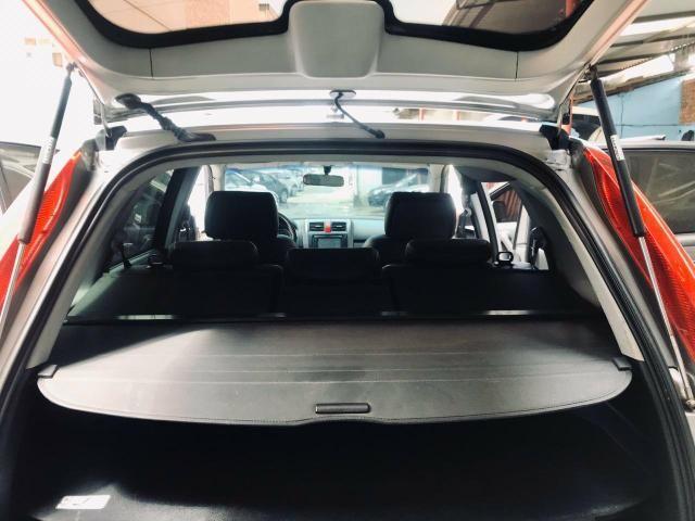 CR-V top de linha automático e brancos de couro - Foto 14