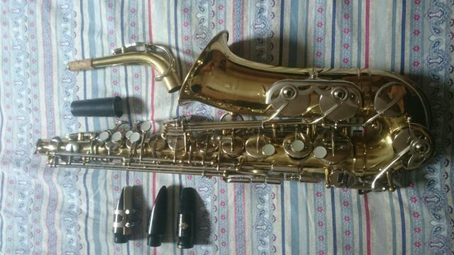 Saxofone Alto Csr 3 boquilhas - Foto 4