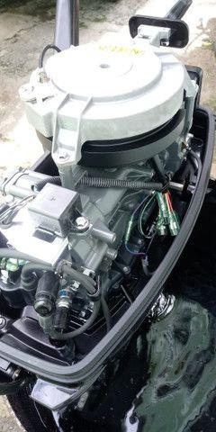 Motor de Popa Suzuki 15 HP - Barco - Foto 2