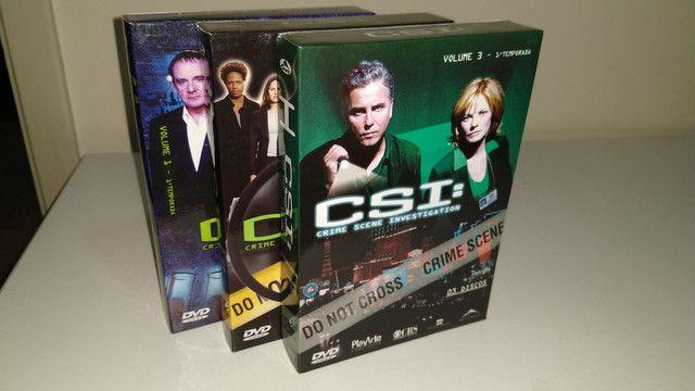 Box dvd CSI 1 2 3 - Foto 2