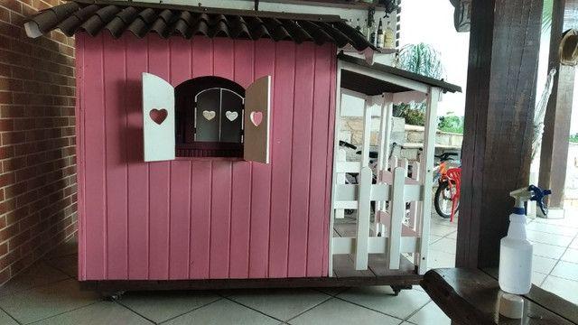 Casinha madeira para crianças - Foto 3