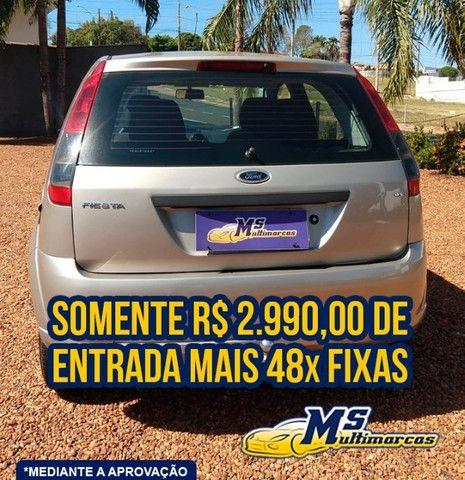 Fiesta 1.6 FLEX 2011 Completo - Foto 4