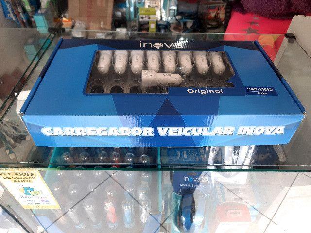 Carregador Veicular Inova - Foto 2