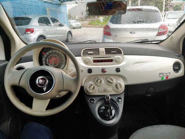 FIAT 500 DUAL 1.4 COMPLETO ANO 2012 - Foto 10
