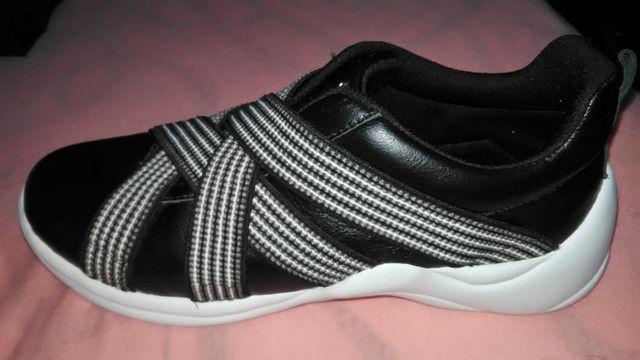 Tênis Feminino Verofatto Sneaker Chunky com Elasticos<br><br>Tamanho 37 - Foto 4