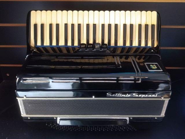 Acordeon Settimo Soprani 120 Baixos (Mixer Instrumentos Musicais) - Foto 3