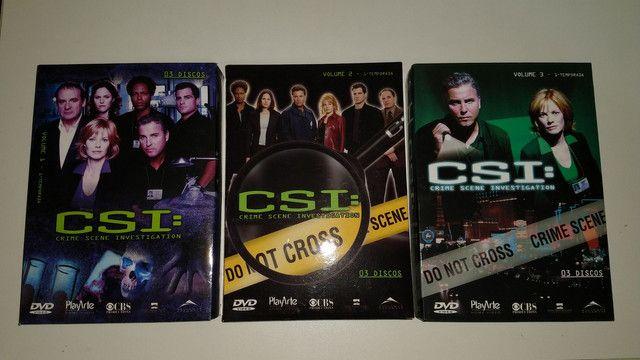 Box dvd CSI 1 2 3