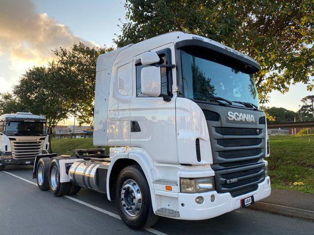 Scania G380 Trucado 6x2 Fino Trato 2011 Top Só Trabalhar