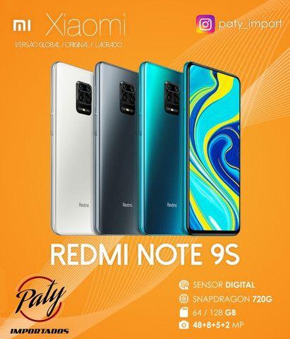 Redmi Note 9S 64GB Lacrado - Paty Importados