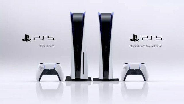 Console Sony Playstation 5 825gb ssd 8K Branco - Sem estoque