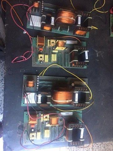 Dóis divisores de frequência monitor Staner Stage 212T, crossover passivo - Foto 6