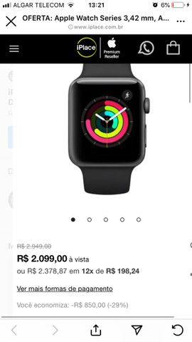 Apple Watch 3 GPS 42 mm Zero c/ NF - Foto 2