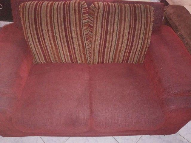 Jogo de sofá 400 reais - Foto 2