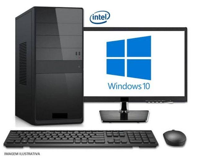 PC - Intel Core i3 _4GB _ SSD120 _ Monitor 17