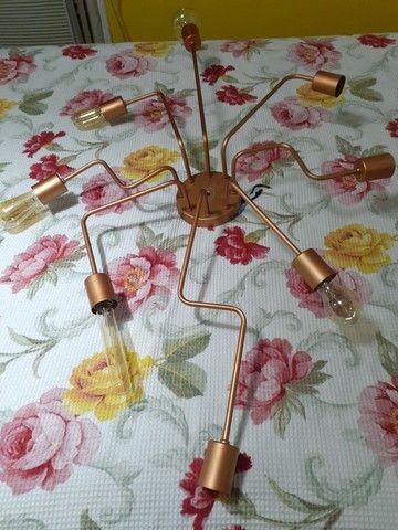 Lustre rose gold  - Foto 2