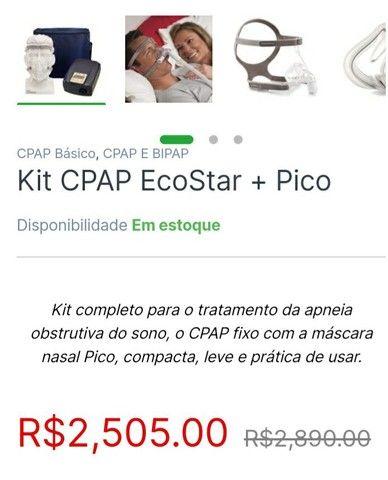 Kit. Cpap semi novo  - Foto 5
