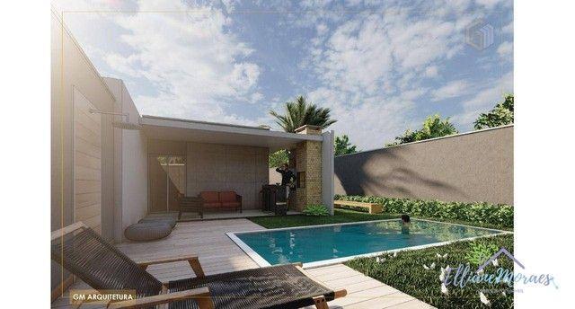 Casa com 3 dormitórios à venda, 103 m² por R$ 295.000,00 - Timbu - Eusébio/CE - Foto 4