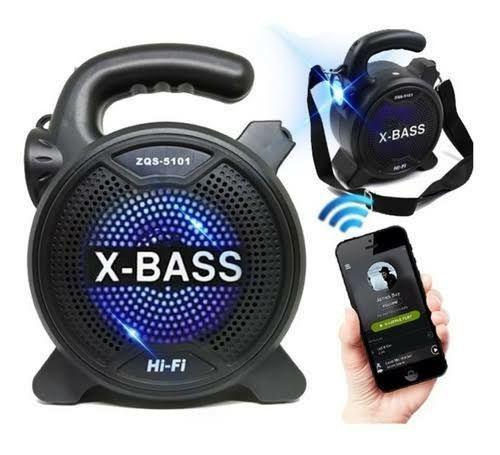 Som Bluetooth X-BASS ZQS-5101 - Foto 4