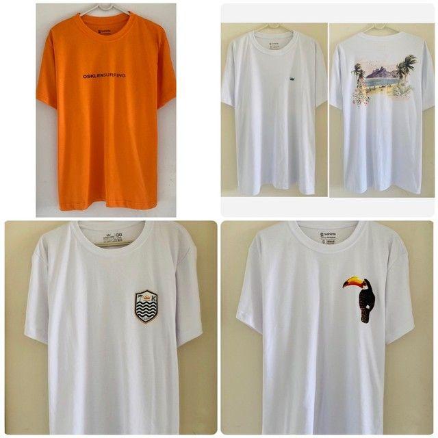 Camisetas Osklen originais malhões big shirts novas  - Foto 2